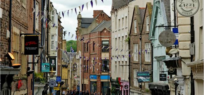 Durham City shops - commercial property