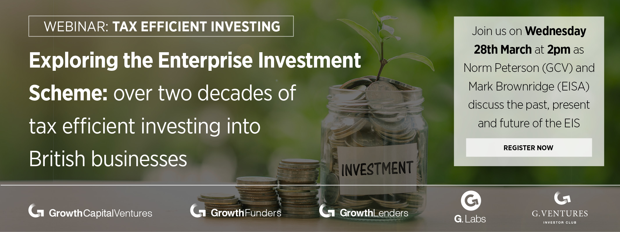 'Exploring The Enterprise-Investment Scheme' webinar on 28th March 2018
