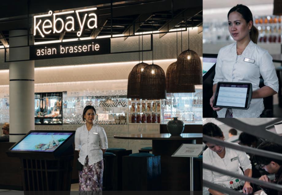 Kebaya Asian Brasserie QikServe