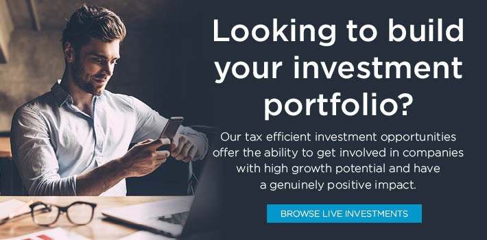 View our live tax efficient investment opportunities