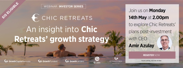 Join us for 'an insight into Chic Retreats' growth strategy' webinar