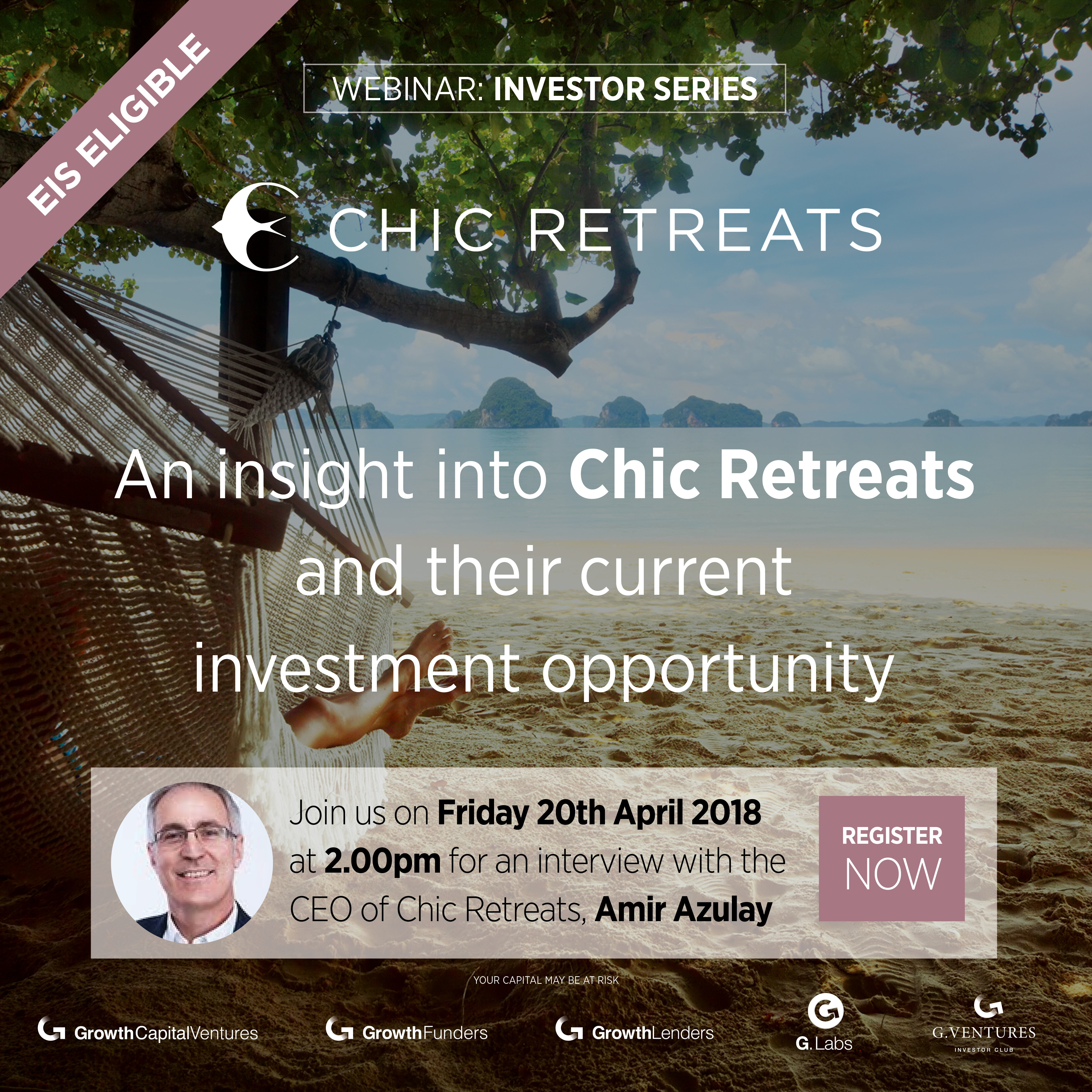 webinar | an interview with Amir Azulay, CEO of Chic Retreats