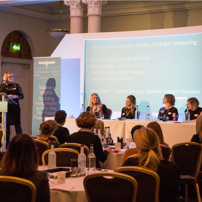 Success at the north's first female-focused angel investment forum