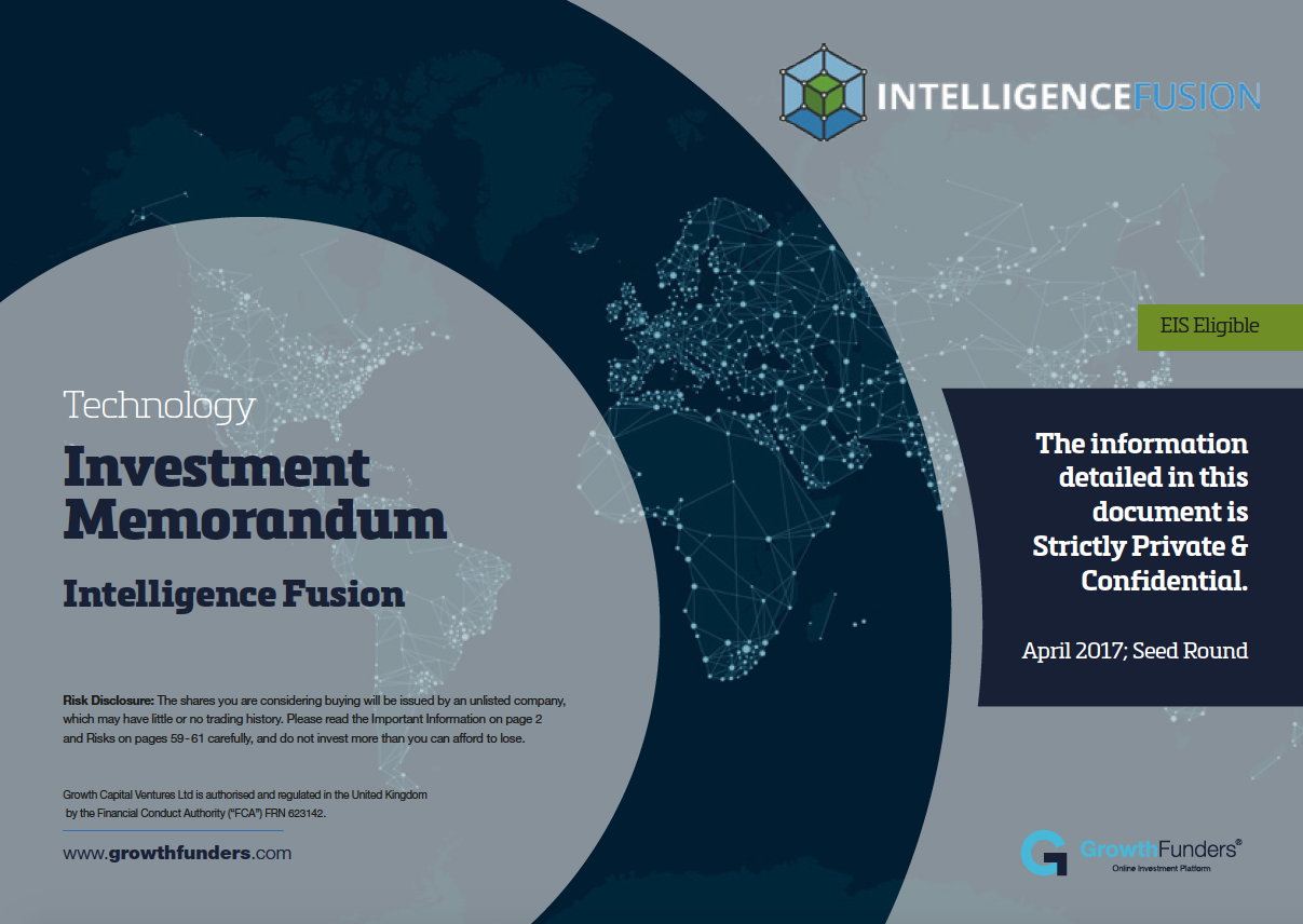Intelligence Fusion: the investment opportunity and achievements
