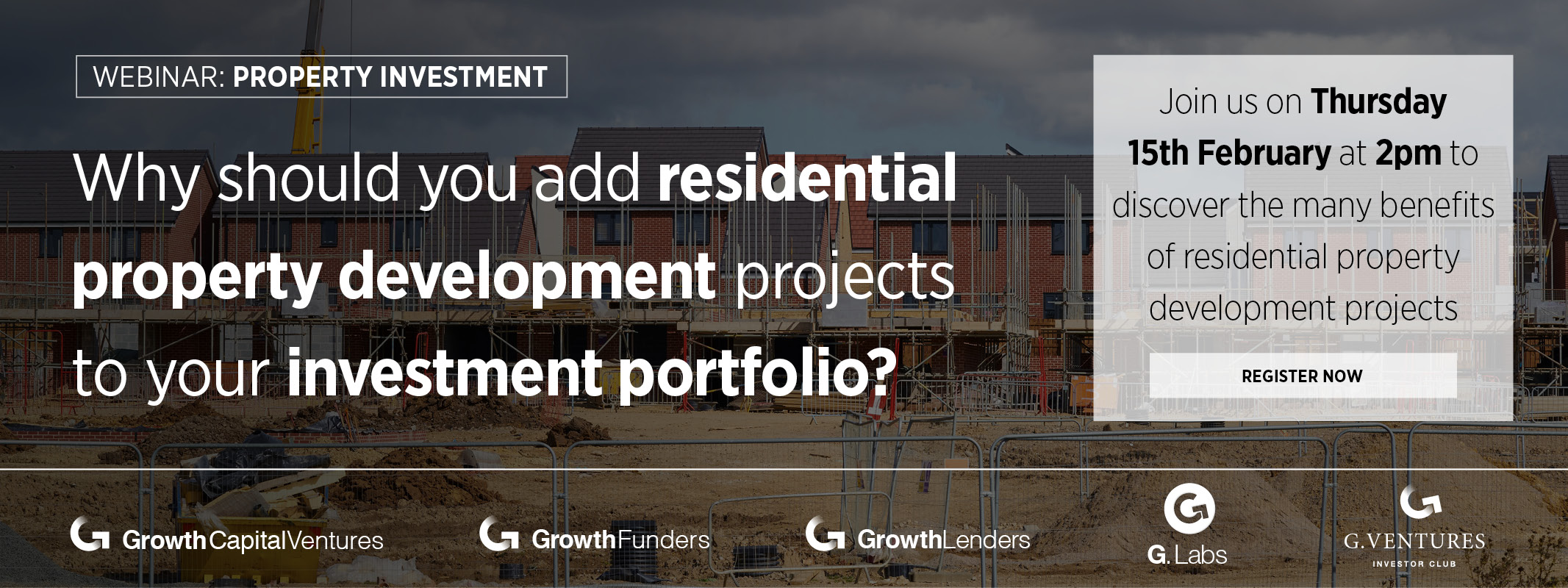[webinar] Why should you add residential property development projects to your investment portfolio?