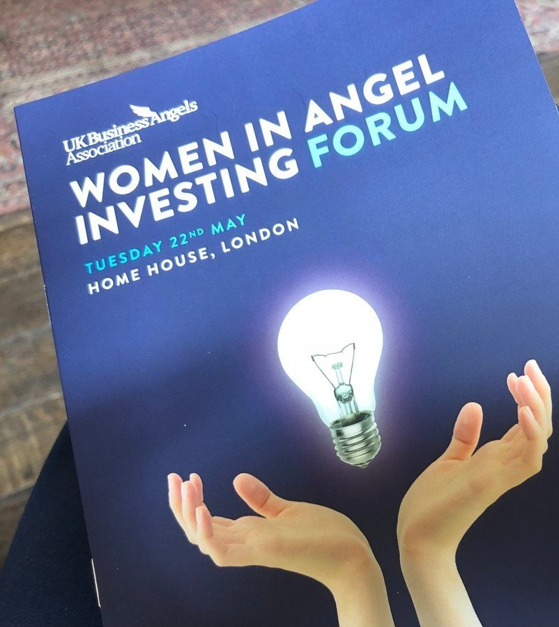 My key takeaways from the the UKBAA's 'women in angel investing' forum